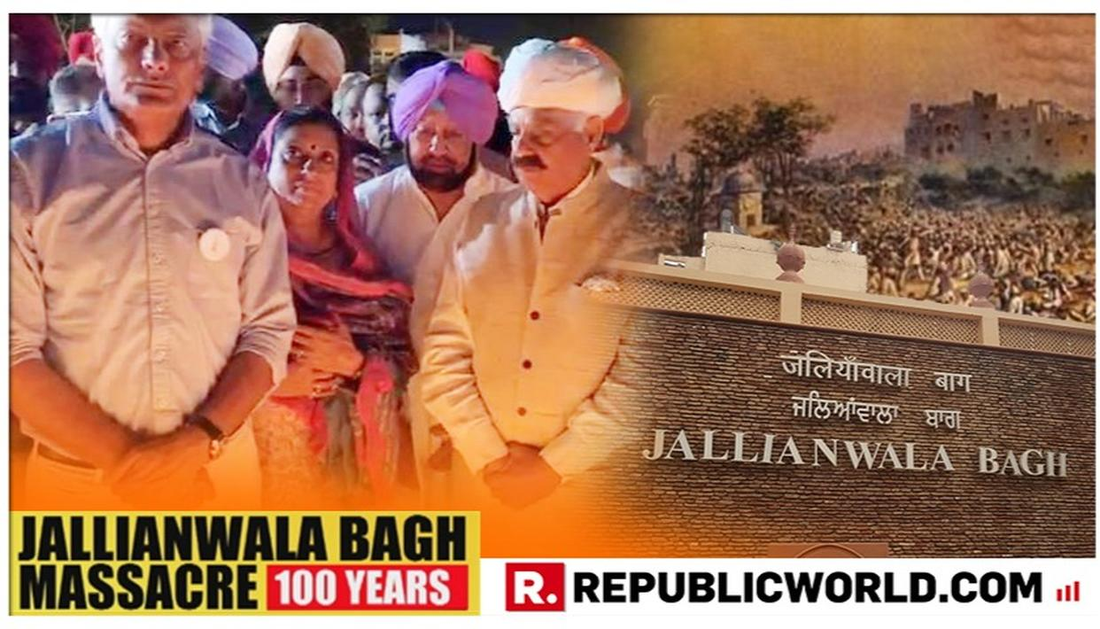A DAY BEFORE COMPLETION OF 100 YEARS SINCE JALLIANWALA BAGH MASSACRE, PUNJAB CM CAPT AMARINDER & THOUSANDS MORE OBSERVE CANDLELIGHT MARCH