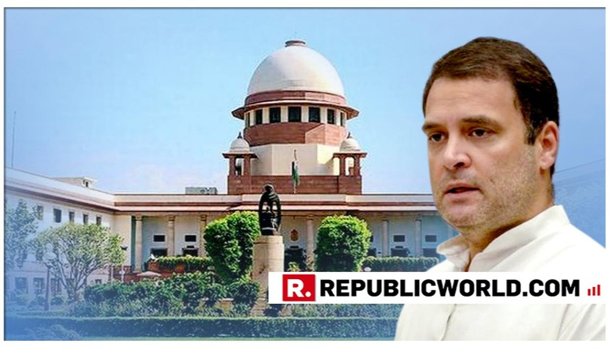 """NO VIEWS, OBSERVATION OR FINDINGS SHOULD BE ATTRIBUTED TO THE COURT IN A POLITICAL ADDRESS OR SPEECHES,"" SAYS SC IN A NOTICE ISSUED TO RAHUL GANDHI ON RAFALE MATTER"
