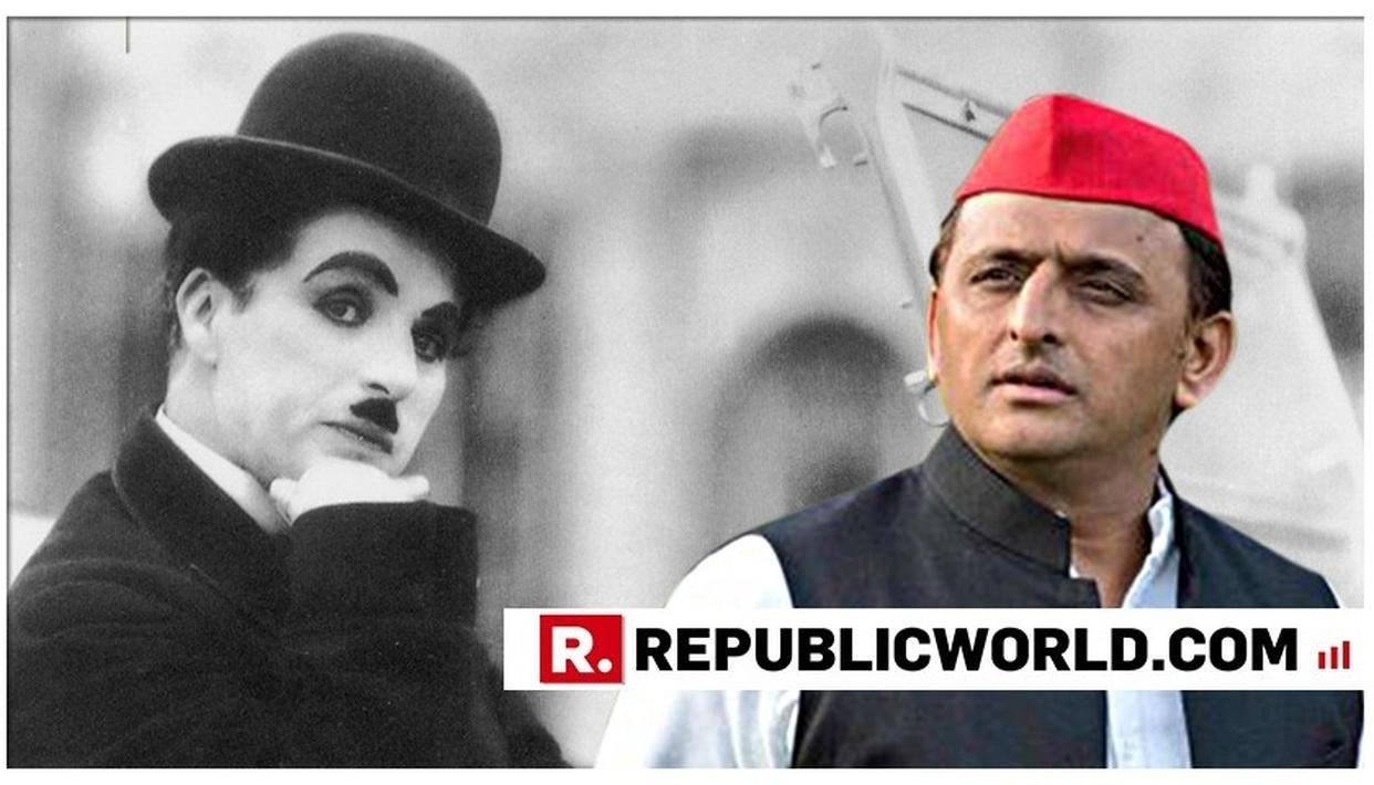 ON CHARLIE CHAPLIN'S 130TH BIRTH ANNIVERSARY, AKHILESH YADAV SHARES AN ICONIC SCENE FROM THE LEGENDARY COMIC ACTOR'S FILM