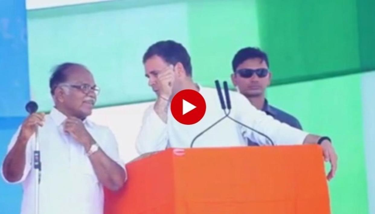VIRAL: ECHO AND SNAGS, HERE IS HOW RAHUL GANDHI'S ADDRESS IN KERALA'S PATHANAMTHITTA FOUND ITSELF LOST IN TRANSLATION
