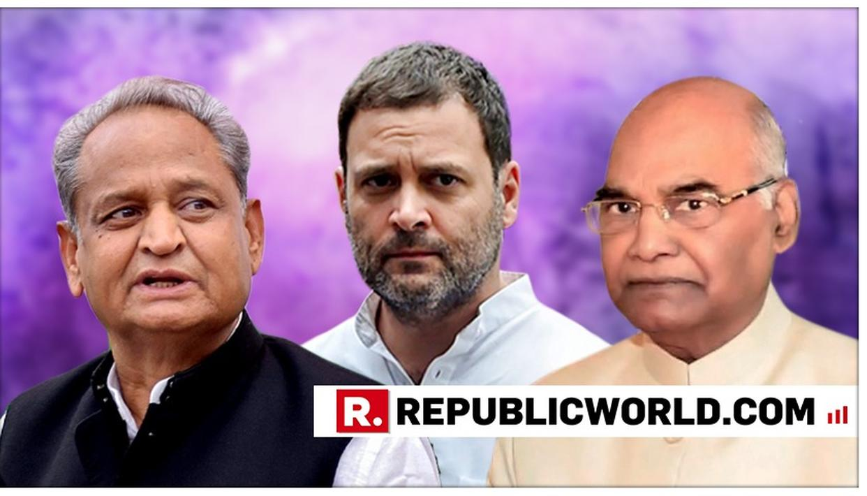 WATCH: BJP RAGES AGAINST ASHOK GEHLOT AFTER HIS 'CASTE FACTOR' SHOCKER ON PRESIDENT KOVIND'S SELECTION, TELLS EC THAT IT HAS NO OPTION BUT TO TAKE ACTION
