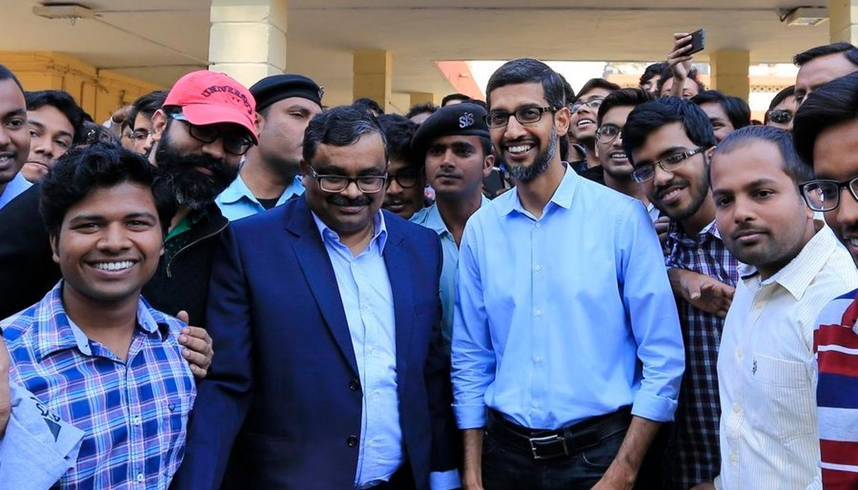 VIRAL PICTURE: DID GOOGLE CEO SUNDAR PICHAI CAST HIS VOTE IN TAMIL NADU? HERE'S THE TRUTH