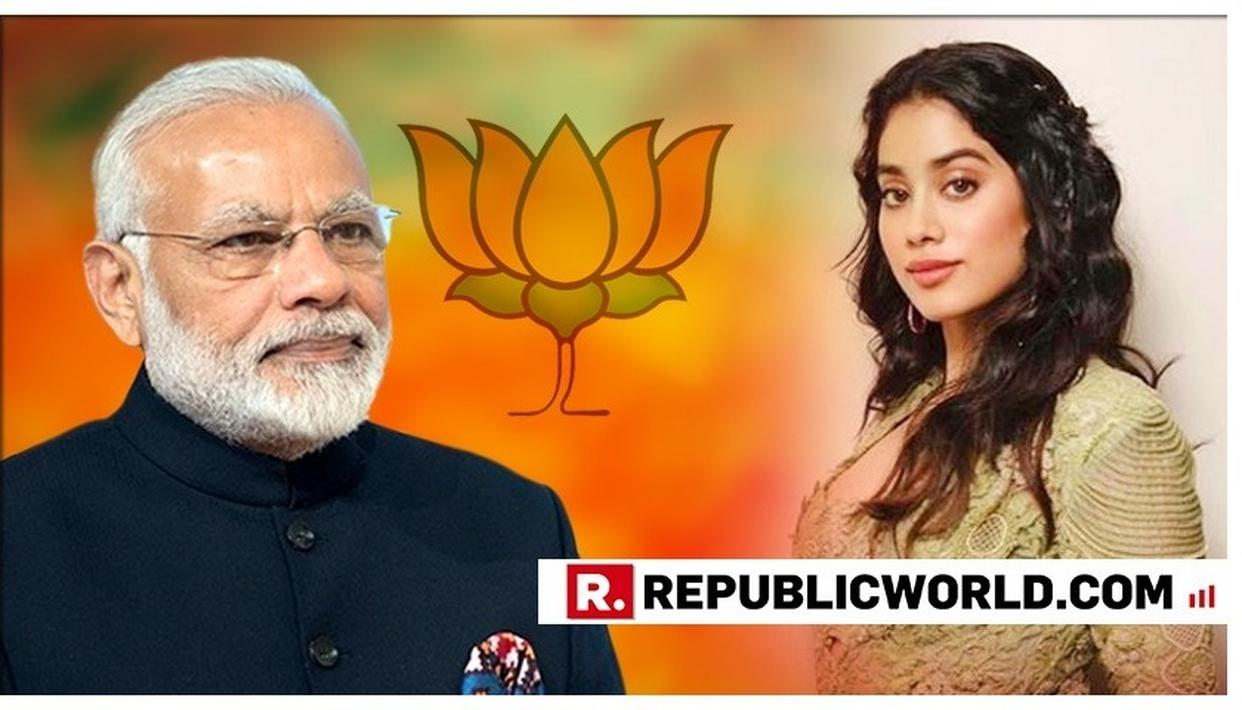 JANHVI KAPOOR'S TWEET PROMOTING MODI GOVERNMENT GOES VIRAL. HERE'S BUSTING THE FAKE NEWS