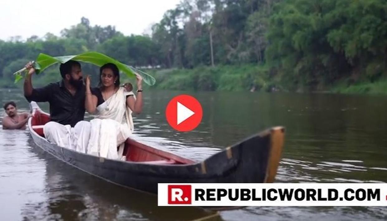 VIRAL| KERALA COUPLE FALLS INTO RIVER WHILE TRYING TO POST ROMANTICALLY DURING THEIR PRE-WEDDING SHOOT. THE VIDEO WILL LEAVE YOU IN SPLITS