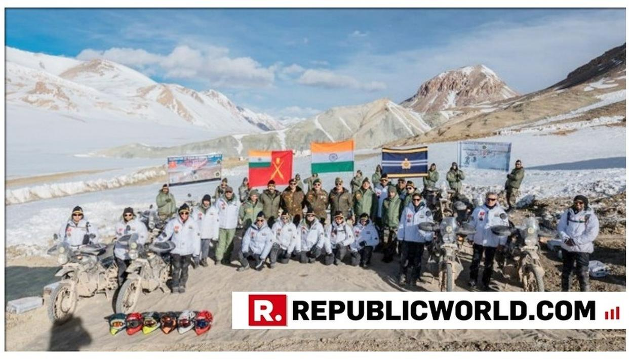 INDIAN ARMY CELEBRATES 20 YEARS OF KARGIL VICTORY WITH 'HIMALAYAN HEIGHTS MOTORCYCLE EXPEDITION'