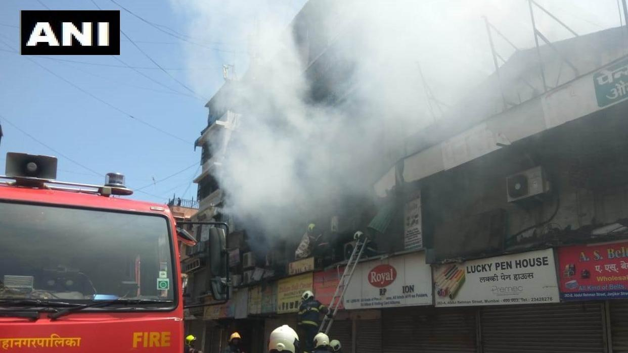 LIVE UPDATES: Fire breaks out at Mumbai's Crawford Market AREA