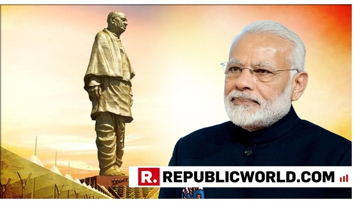 WATCH | PM NARENDRA MODI SHARES A STUNNING BIRD'S EYE VIEW OF THE STATUE OF UNITY WHILE EN ROUTE RAJASTHAN