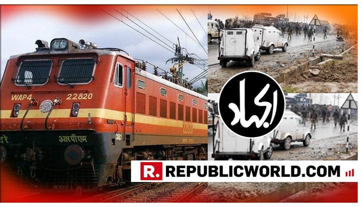 SECURITY TIGHTENED AT ALL WESTERN UP RAILWAY STATIONS AFTER ALLEGED JeM LETTER THREATENS TO BLOW UP STRUCTURES