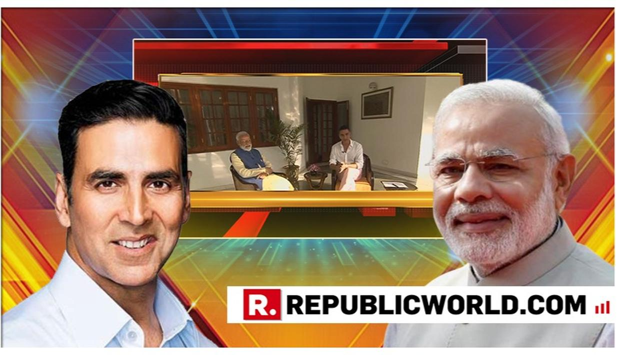WATCH : PM Modi reveals he's watched only these 2 films in recent times, shares sweet childhood story about watching films in interview with Akshay Kumar