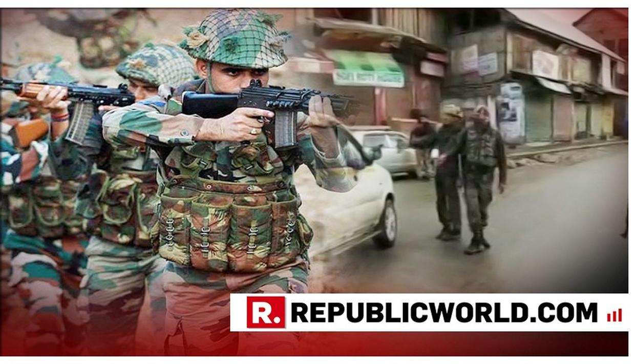 BIG WIN FOR FORCES: TWO HIZBUL TERRORISTS GUNNED DOWN BY SECURITY FORCES IN ANANTNAG ENCOUNTER, ARMS AND AMMUNITION SEIZED