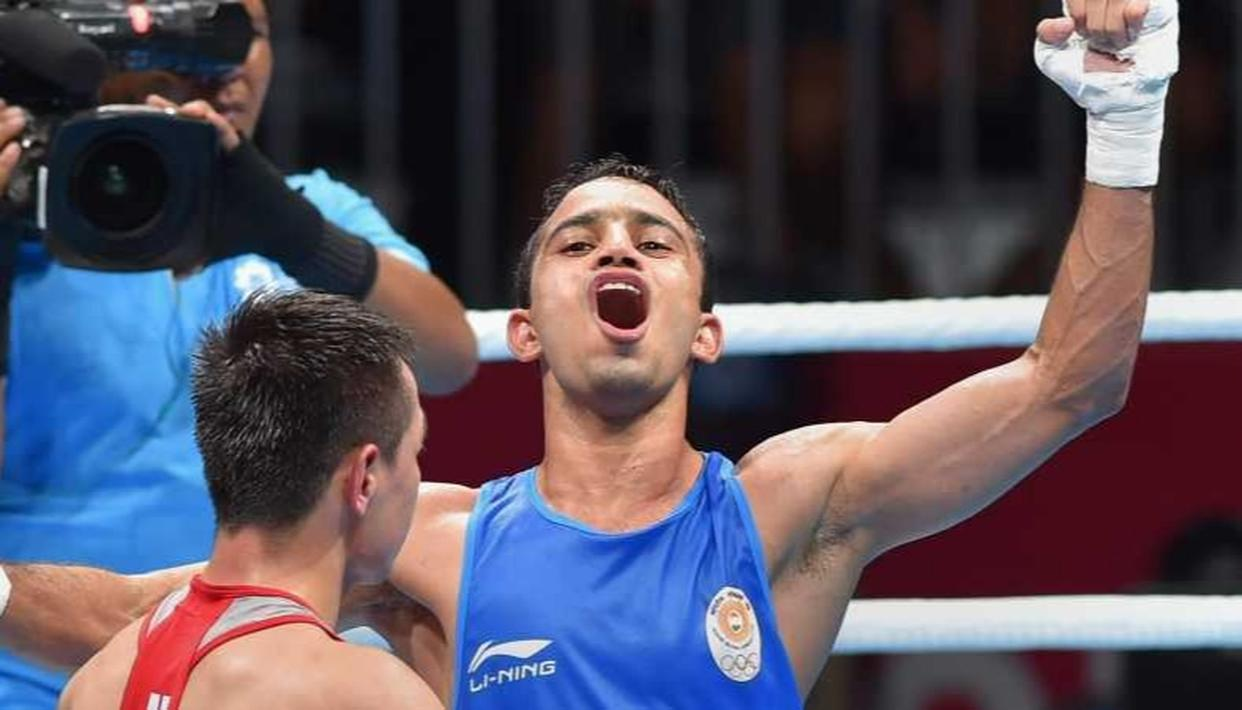 INDIAN BOXER AMIT PANGHAL (52KG) CLINCHES GOLD MEDAL AT ASIAN CHAMPIONSHIPS