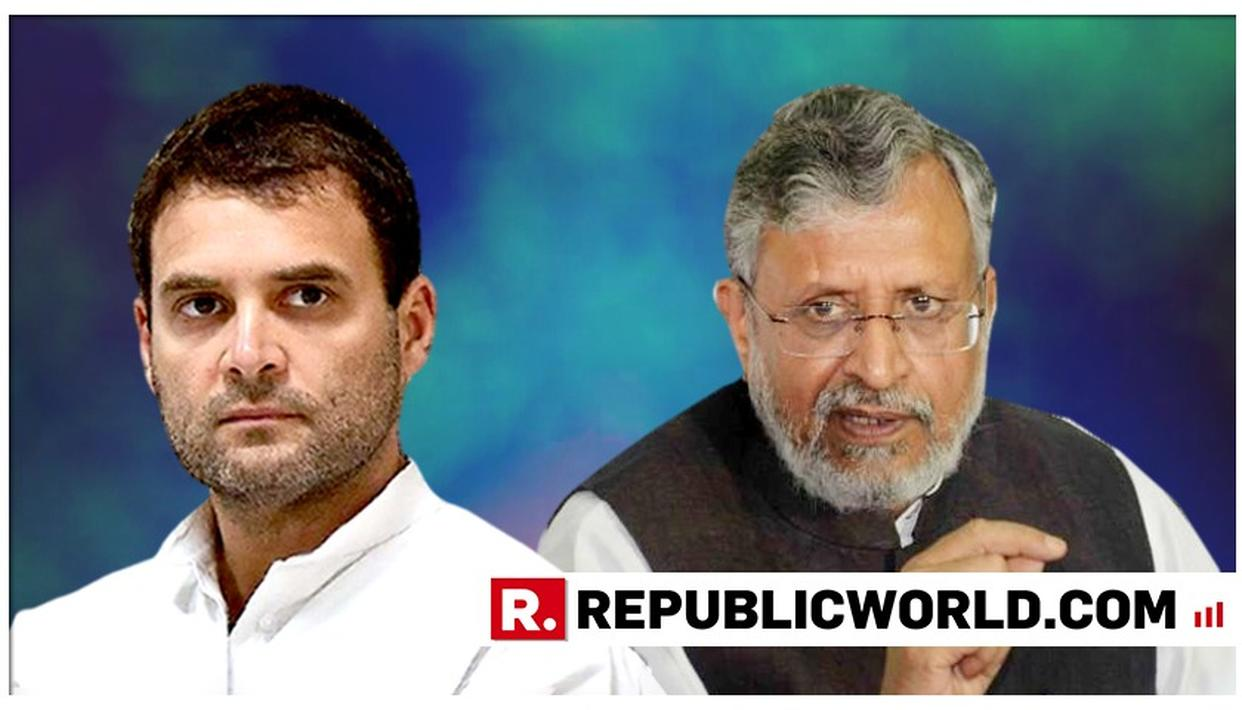 SUSHIL MODI APPEARS BEFORE COURT IN CONNECTION WITH DEFAMATION SUIT AGAINST RAHUL GANDHI
