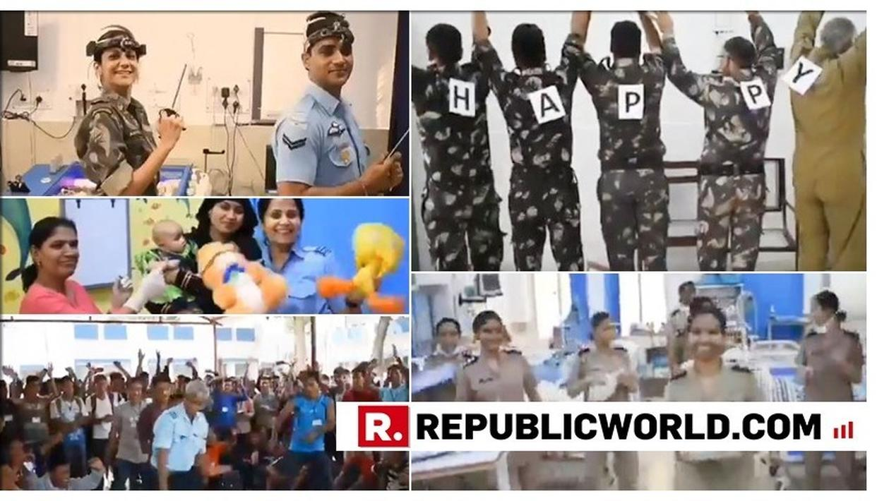 VIRAL VIDEO: INDIAN AIR FORCE DOCTORS DANCING THEIR HEART OUT ON PHARELL WILLIAMS' 'HAPPY' SONG WILL MAKE YOUR DAY