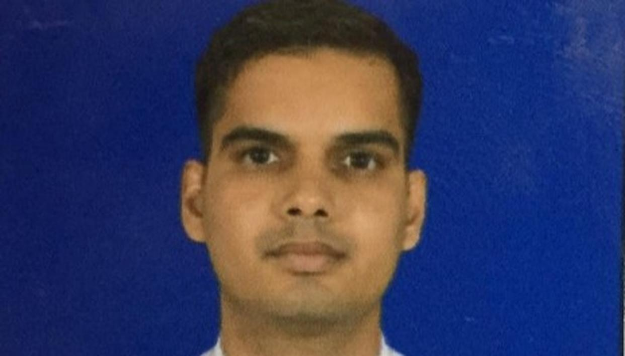 NATION PAYS HOMAGE TO THE BRAVE INDIAN NAVY OFFICER LIEUTENANT COMMANDER DS CHAUHAN WHO LOST HIS LIFE IN A FIRE THAT BROKE OUT IN INS VIKRAMADITYA