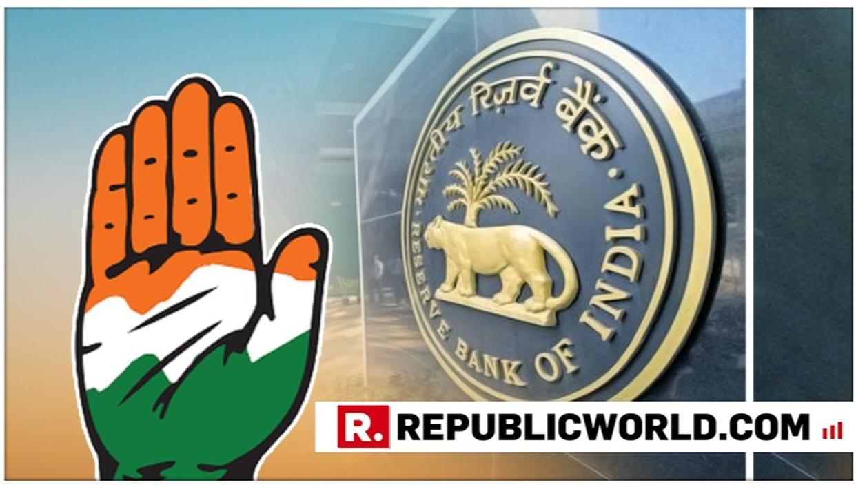 ASK RBI TO DISCLOSE A LIST OF WILFUL LOAN DEFAULTERS: CONGRESS TO GOVERNMENT