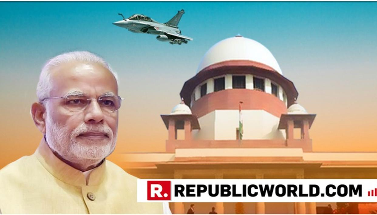 CENTRE SEEKS MORE TIME TO FILE AFFIDAVIT IN RAFALE DEAL, ASKS SC TO DEFER REVIEW PETITION HEARING FROM APRIL 30 TO ANOTHER DATE