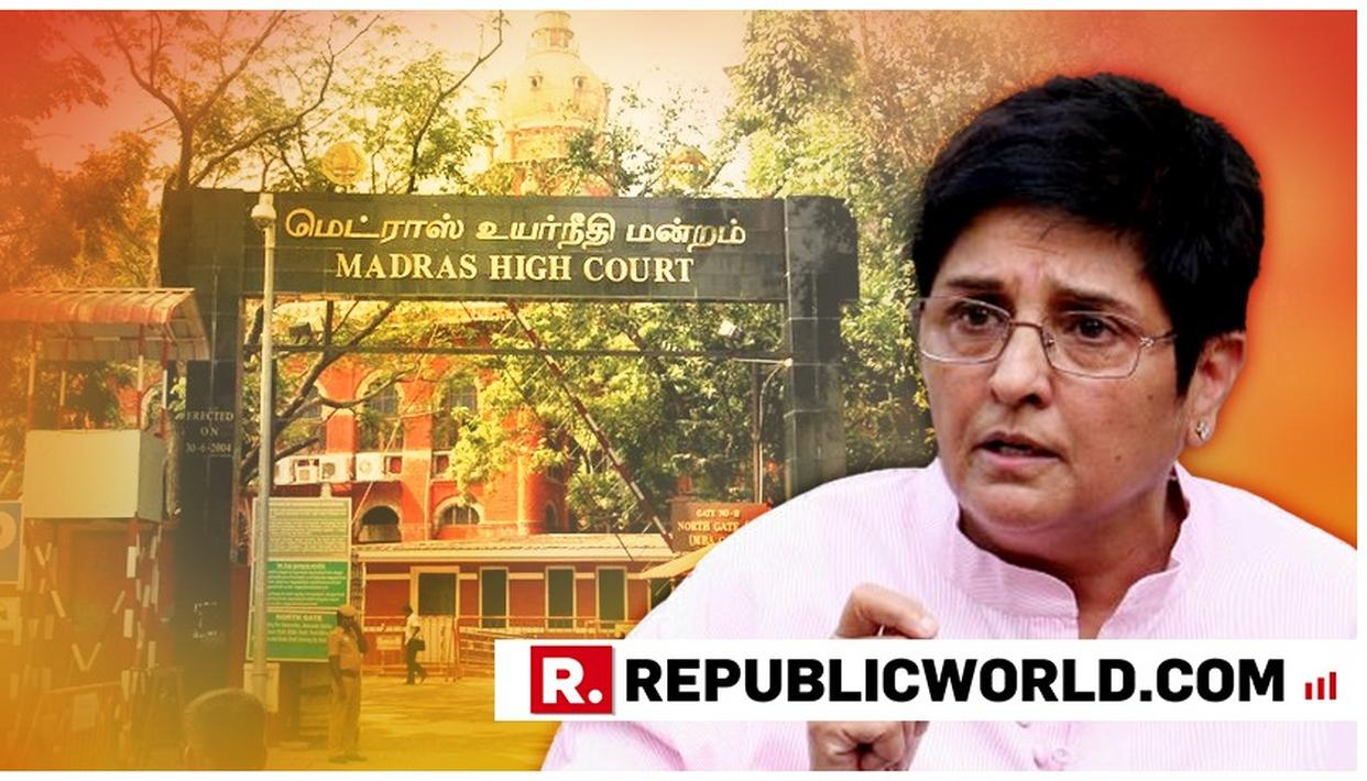 SETBACK FOR KIRAN BEDI, MADRAS HIGH COURT SAYS LIEUTENANT GOVERNOR HAS NO POWERS TO INTERFERE OR ACT INDEPENDENTLY