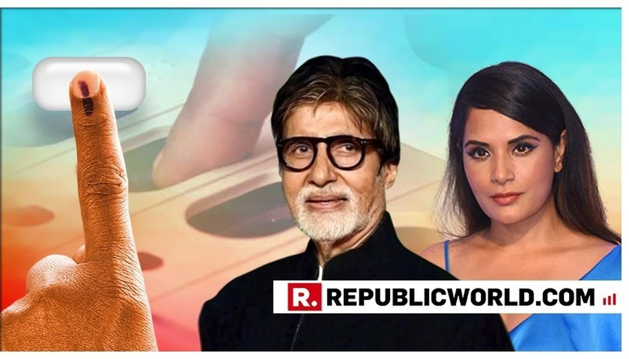 A DAY LATER, AMITABH BACHCHAN, RICHA CHADHA LAUD THE EFFORTS OF THE PEOPLE WHO CAME TO VOTE FOR PHASE 4 LOK SABHA ELECTIONS. HERE'S WHAT THEY SAID