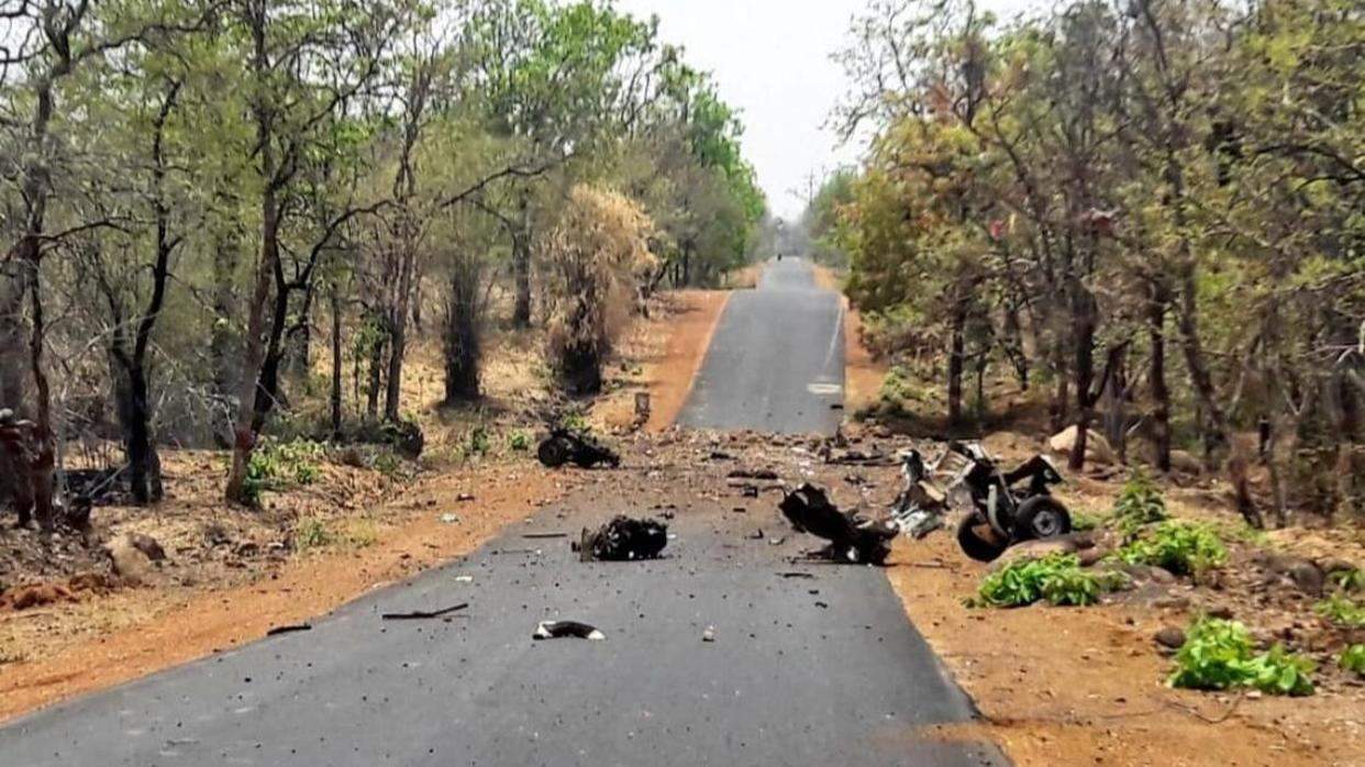 MAOIST ATTACK IN MAHARASHTRA'S GADCHIROLI, SECURITY PERSONNEL TARGETED IN IED BLAST: UPDATES HERE