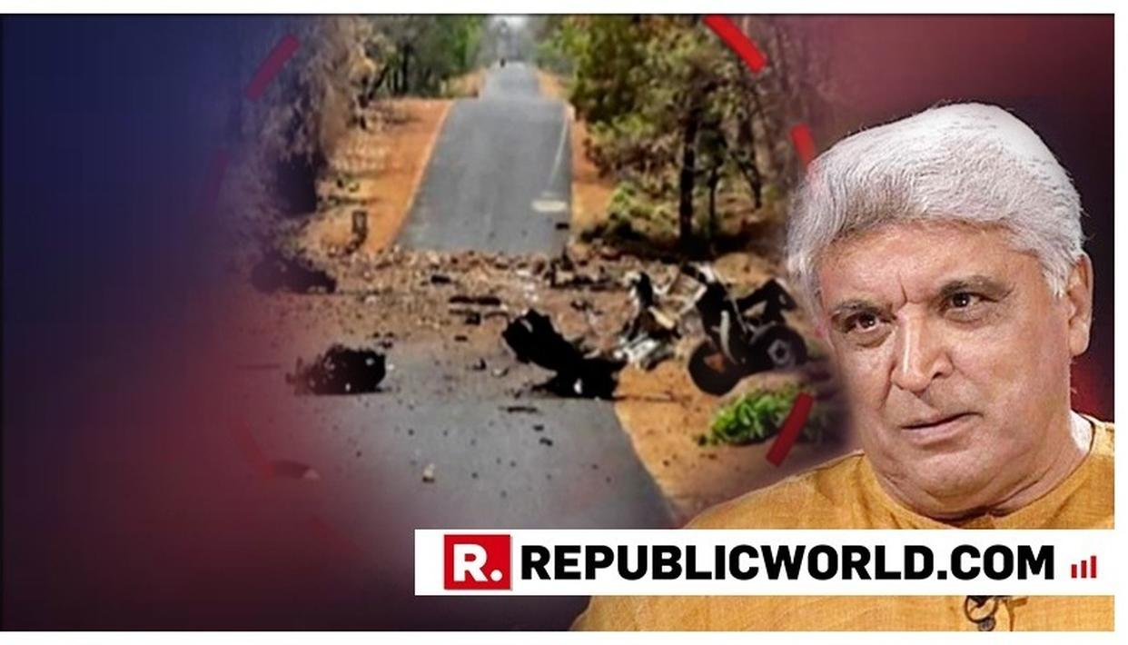 GADCHIROLI ATTACK: JAVED AKHTAR CONDEMNS THE MAOIST IED ATTACK IN MAHARASHTRA AS 'SENSELESS AND BARBARIC', SAYS IT'S NOTHING BUT TERRORISM. READ HERE
