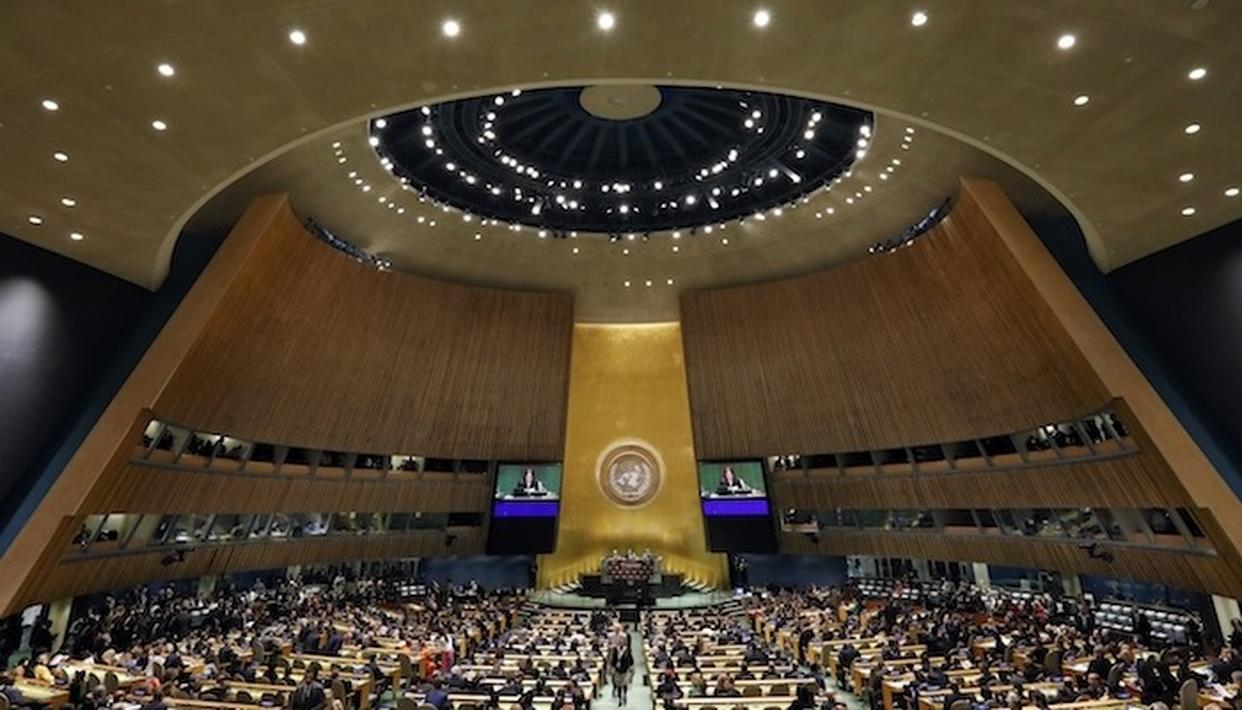 INDIA ASKS UNGA TO THINK COLLECTIVELY WHY ONLY 4 WOMEN BECAME ITS PRESIDENT IN 70 YEARS