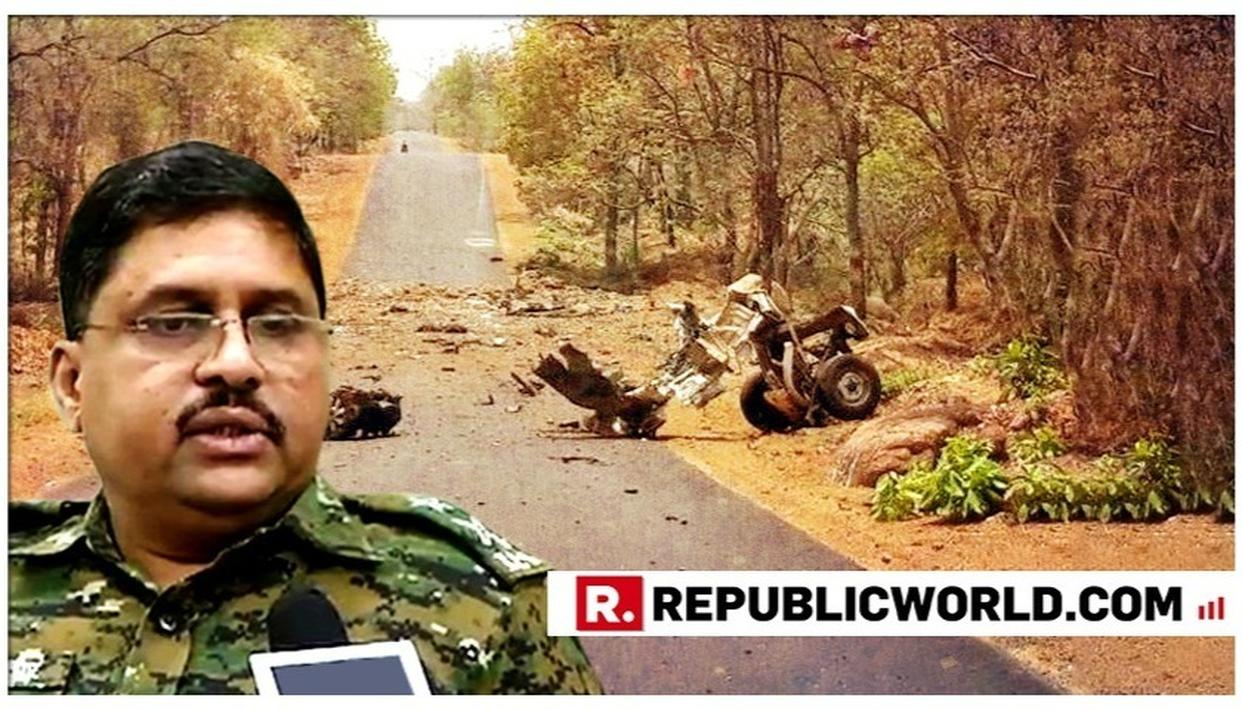 """WATCH: """"THEY GOT SCARED OF INCREASED POLLING IN AREA AND ATTACKED THE POLICE IN DESPERATION,"""" SAYS GADCHIROLI IG SHARAD SHELAR BRIEFING ON THE MAOIST TERROR ATTACK"""