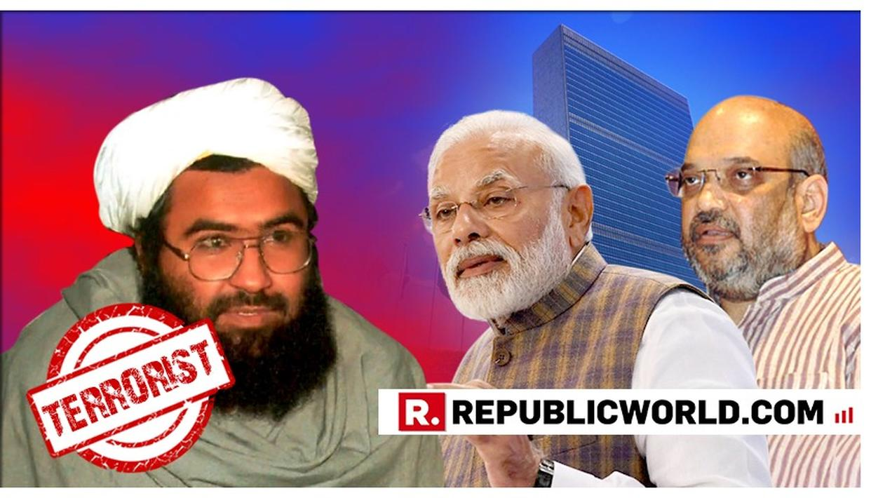'THAT IS WHY INDIA NEEDS A STRONG & DECISIVE LEADER': BJP PRESIDENT AMIT SHAH CREDITS PRIME MINISTER NARENDRA MODI AS MASOOD AZHAR IS DESIGNATED AS GLOBAL TERRORIST BY UN
