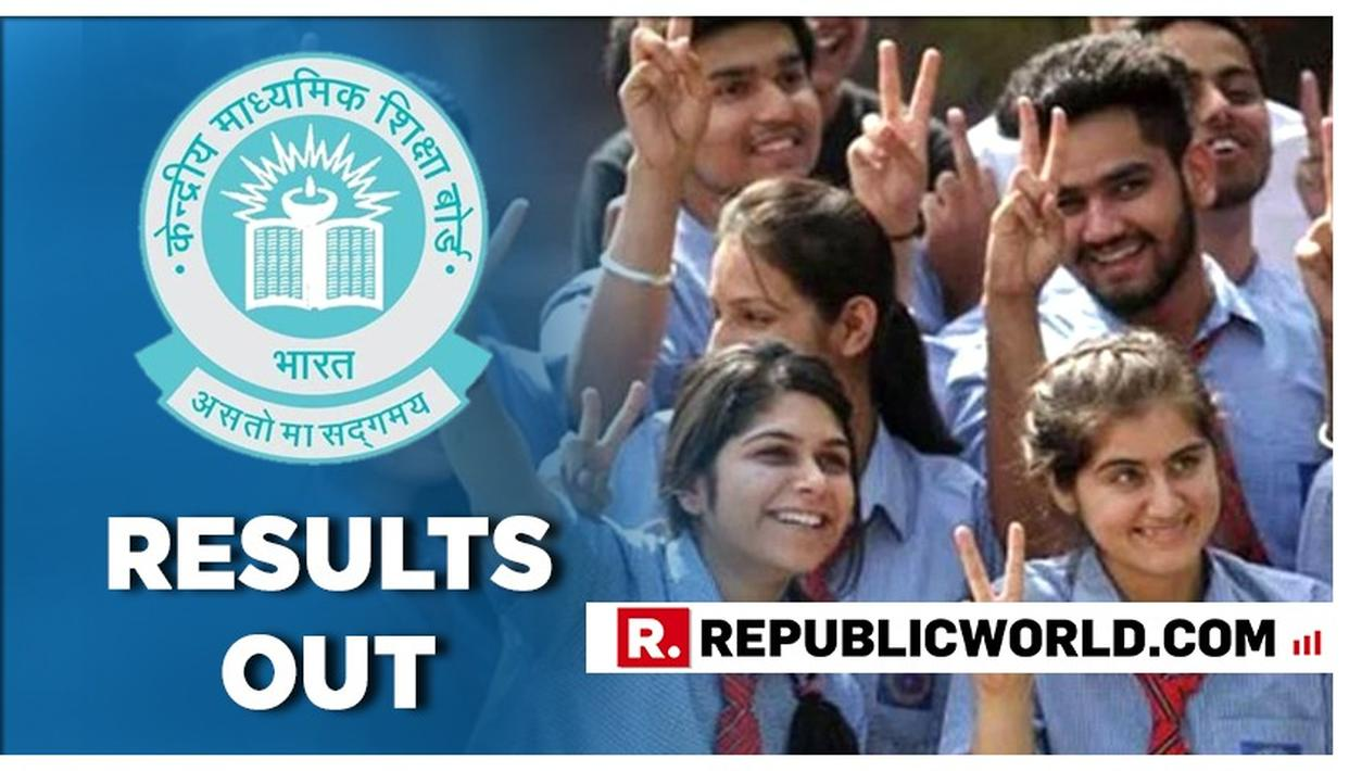 CBSE DECLARES CLASS 12 EXAM RESULT