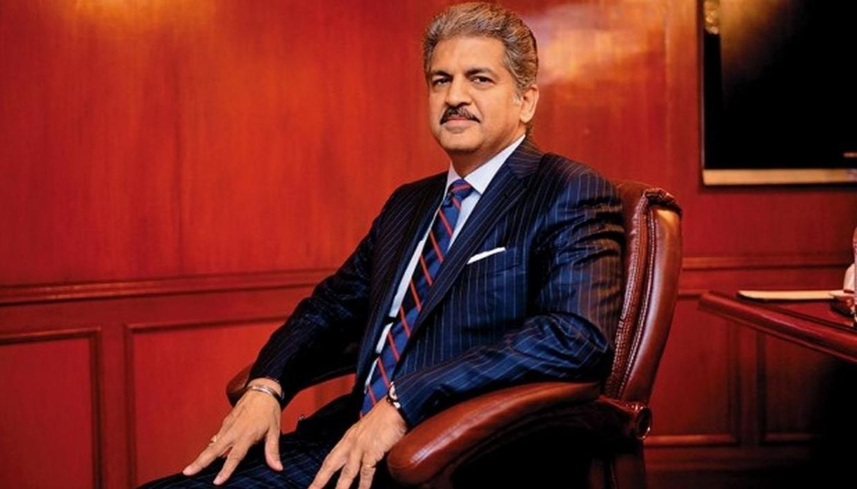 YOU WON'T BELIEVE WHICH GUILTY PLEASURE ANAND MAHINDRA GAVE IN TO AS HE CELEBRATED HIS BIRTHDAY