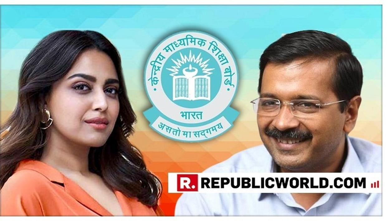 ACTRESS SWARA BHASKER PRAISES ARVIND KEJRIWAL'S AAM AADMI PARTY AFTER THE CBSE RESULT ANNOUNCEMENT