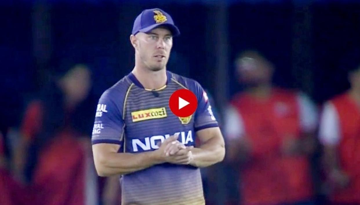 MULTI-TASKING WIN: WATCH HOW CHRIS LYNN TOOK A STUNNING CATCH WHILE SPEAKING TO THE COMMENTATORS LIVE
