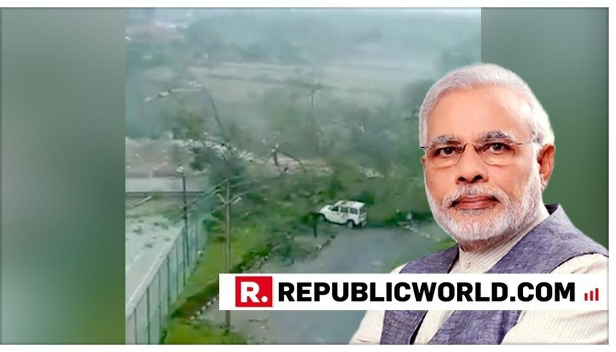 CYCLONE FANI: PM MODI TO VISIT ODISHA ON MAY 6, DISCUSSES SITUATION WITH CM, GOVERNOR