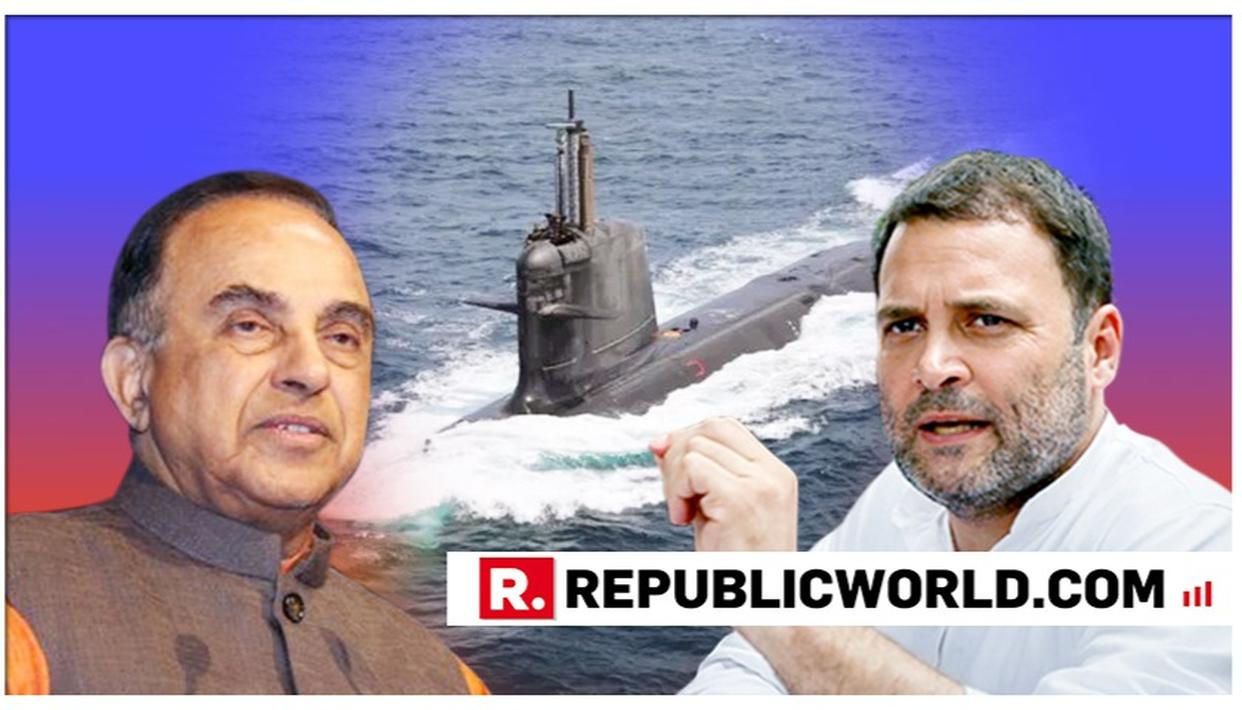 WATCH: DR SUBRAMANIAN SWAMY RESPONDS TO RAHUL GANDHI'S UK BUSINESS PARTNER'S SCORPENE-CLASS SUBMARINE DEAL LINK BEING EXPOSED