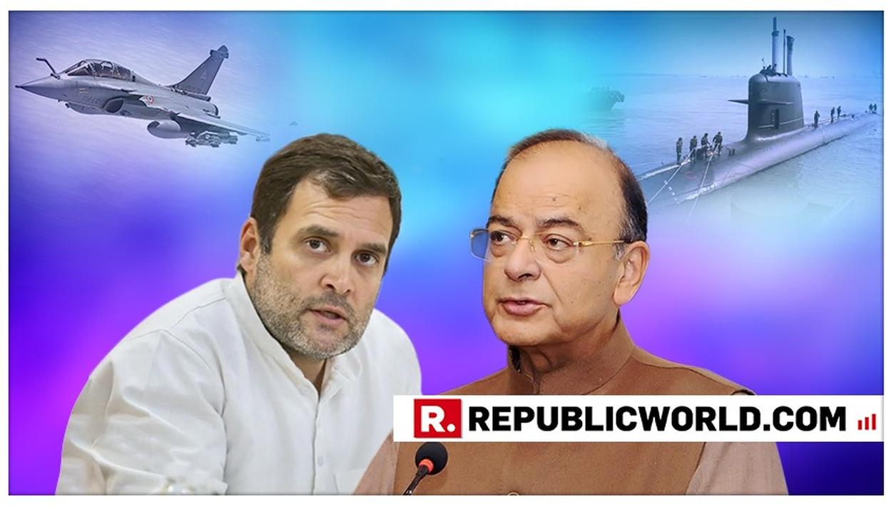 WATCH: JAITLEY SPELLS OUT THE FULL RAHUL-SCORPENE DEAL LINK
