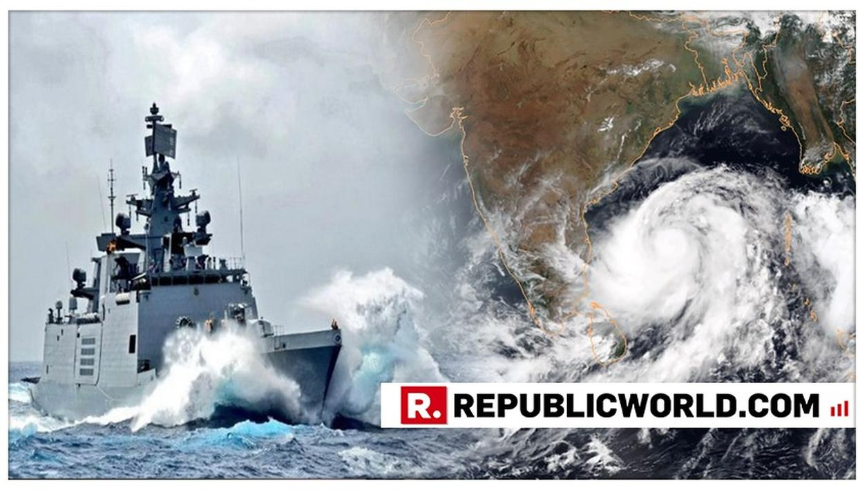 CYCLONE 'FANI': INDIAN NAVY LAUNCHES RESCUE AND REHABILITATION EFFORT IN ODISHA