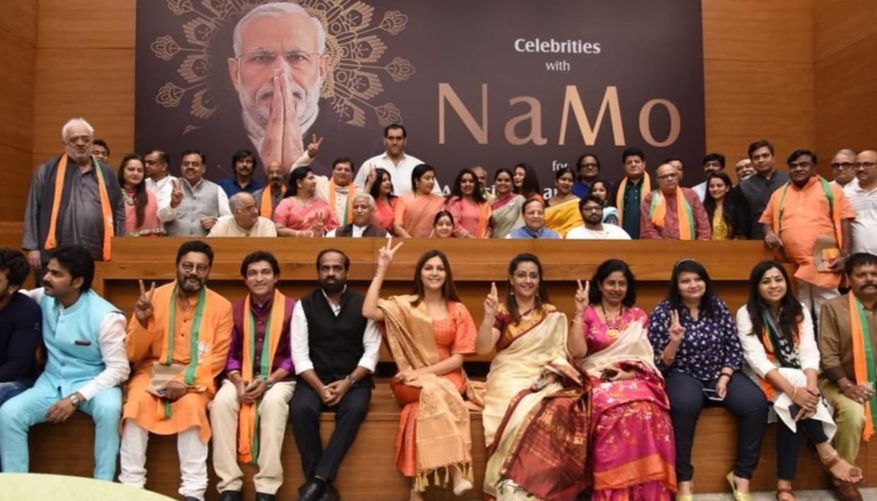 'PRIME MINISTER MODI DESERVES TO BE THE PM AGAIN': SAPNA CHAUDHARY, THE GREAT KHALI, BONEY KAPOOR, POONAM DHILLON, OTHER ARTISTS ROOT FOR BJP-LED GOVERNMENT AT CENTRE AGAIN
