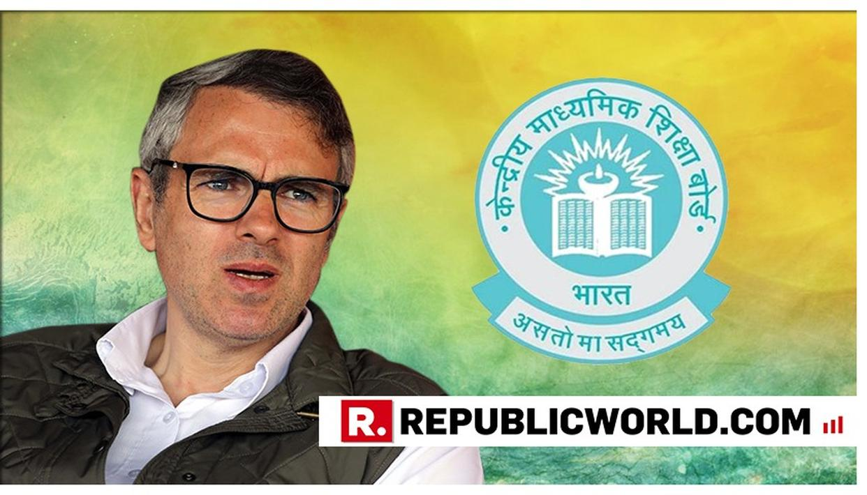 CBSE CLASS 10 RESULTS: OMAR ABDULLAH HAS A SPECIAL CONGRATULATORY MESSAGE FOR HIS NEPHEW. READ HERE