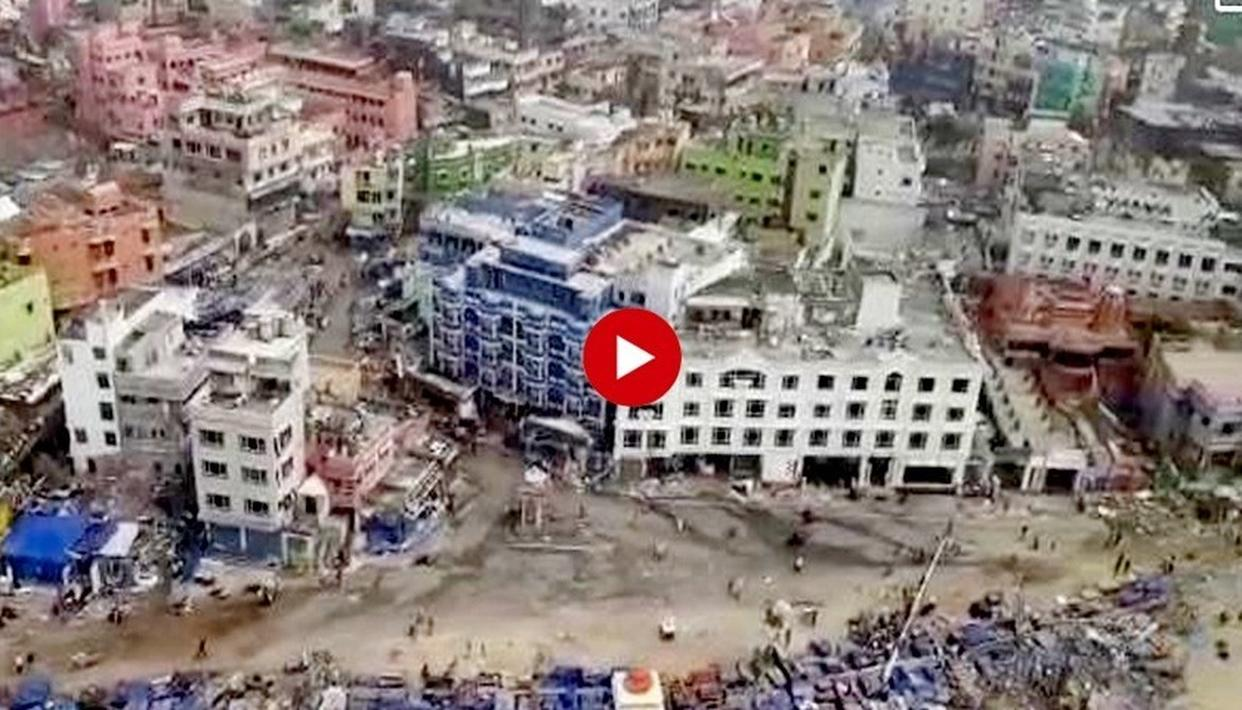 WATCH: BIRD'S-EYE-VIEW OF POST-FANI ODISHA AND WEST BENGAL REVEALS SCOPE OF CYCLONE'S DESTRUCTIVENESS