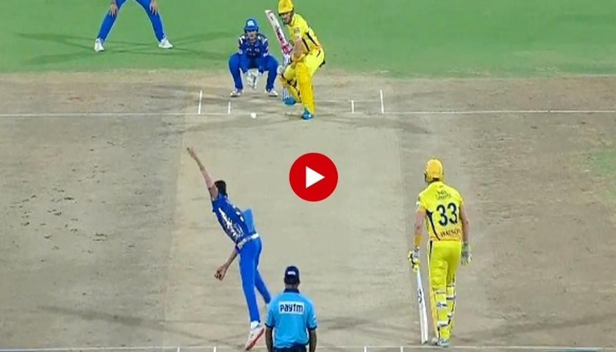 WATCH: CLASSIC LEG-SPIN HELPS RAHUL CHAHAR DISMISS FAF DU PLESSIS IN CRITICAL MI VS CSK IPL QUALIFIER, SACHIN TENDULKAR APPLAUDS