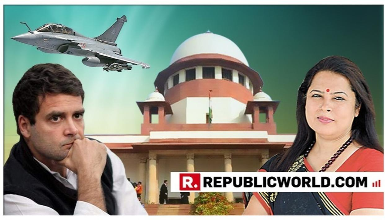 PETITIONER MEENAKSHI LEKHI INDICATES HER NEXT STEP AFTER RAHUL GANDHI 'UNCONDITIONALLY APOLOGISES' TO SC FOR HIS 'CHOWKIDAR CHOR HAI' REMARK
