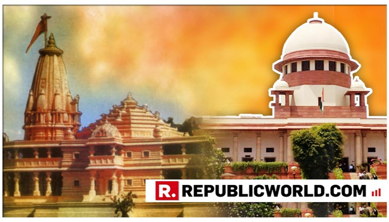 SUPREME COURT EXTENDS TIME FOR THE AYODHYA MEDIATION. GIVES THE 3-MEMBER PANEL TIME TILL 15 AUGUST TO COMPLETE THE PROCESS.