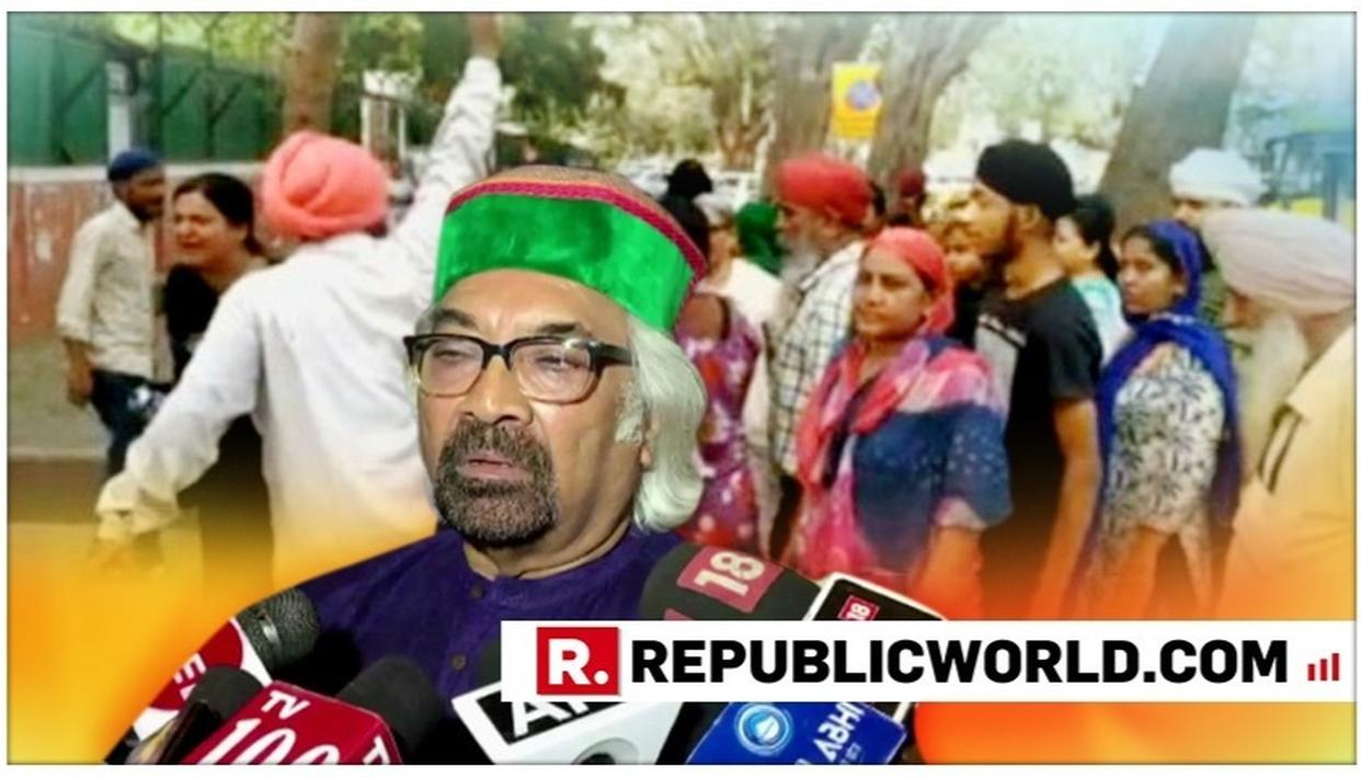 WATCH | SIKH COMMUNITY STAGES A PROTEST OUTSIDE CONGRESS' DELHI HEADQUARTER OVER SAM PITRODA'S 'HUA TO HUA' COMMENT; CHANT SLOGANS AGAINST RAHUL GANDHI