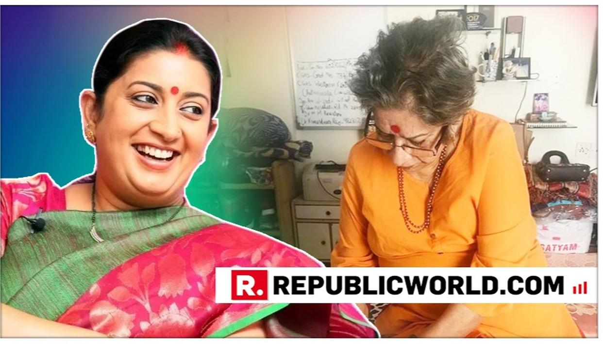 'EVERY MOTHER HAS A SPECIAL POWER, MY MOTHER'S IS ...' WRITES SMRITI IRANI'S IN HER BEAUTIFUL POST ON MOTHER'S DAY