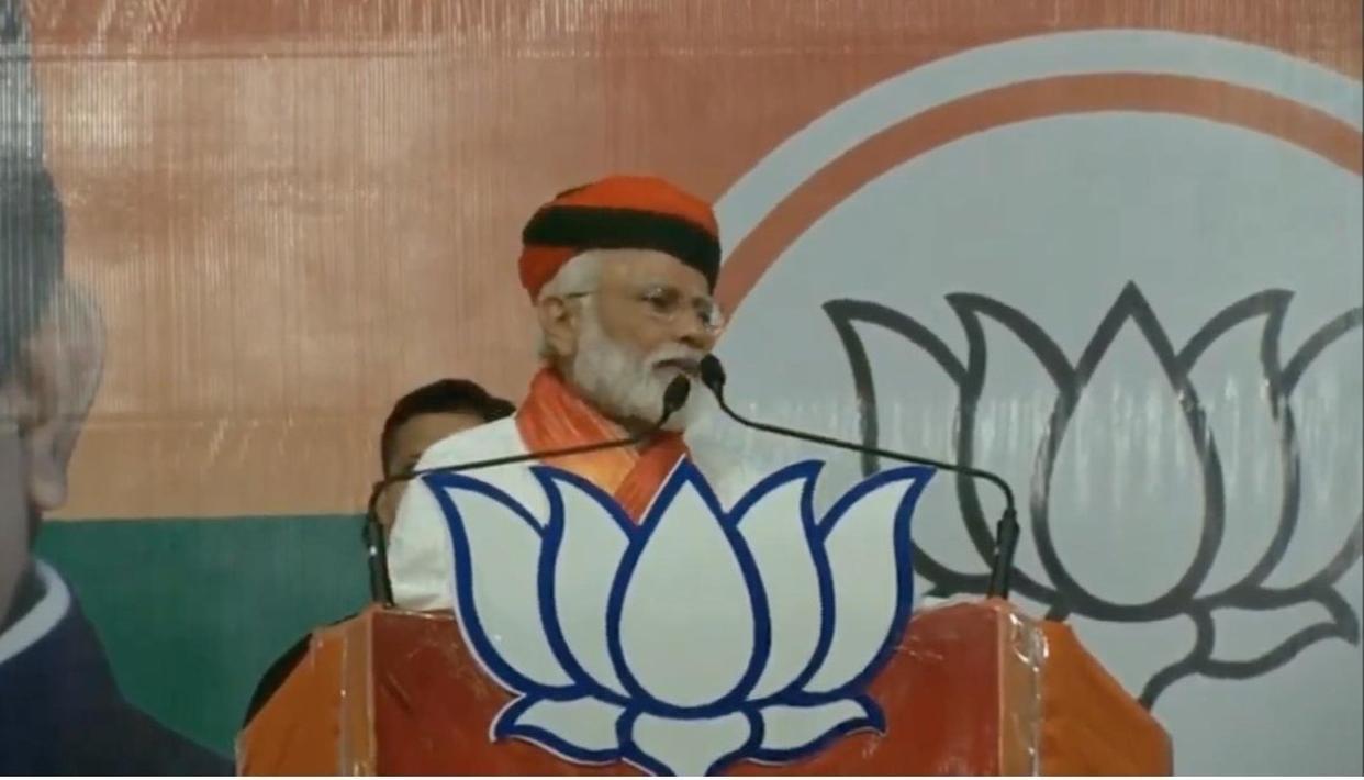 कांग्रेस ने हमारी धार्मिक विरासत को बदनाम करने के लिए 'हिंदू आतंकवाद' का षड्यंत्र रचा: PM मोदी