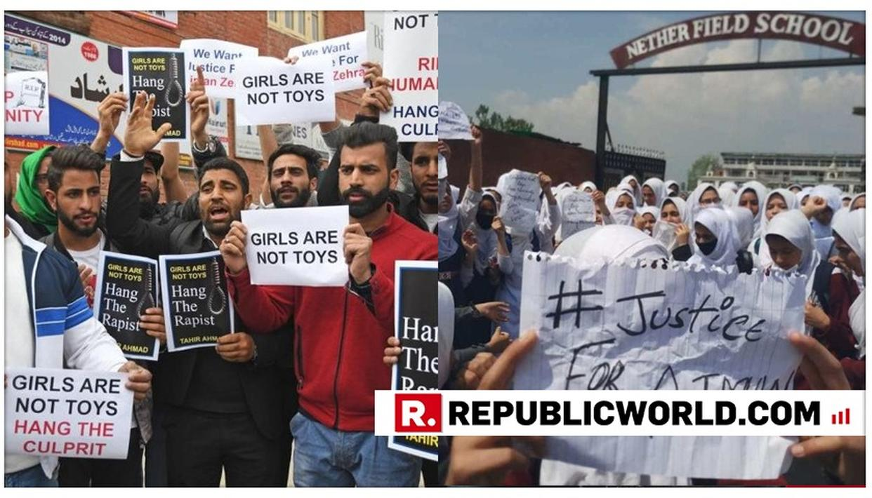 PROTESTS ERUPT IN JAMMU AND KASHMIR OVER HORRIFIC RAPE OF A 3-YEAR-OLD IN BANDIPORA, DEMONSTRATORS QUESTION INACTION OF HURRIYAT LEADERS