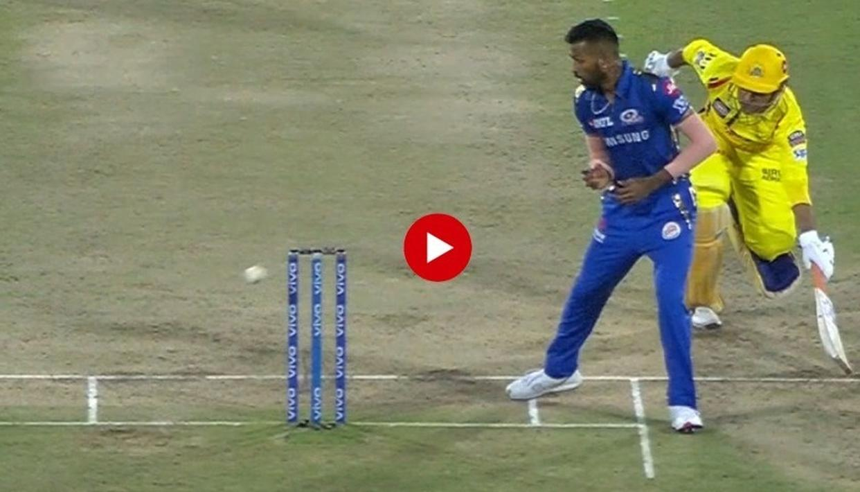 OUT OR NOT OUT? MS DHONI'S RUN OUT IN CSK'S IPL FINAL LOSS AGAINST MI HAS CAUSED A HEATED DEBATE ON SOCIAL MEDIA