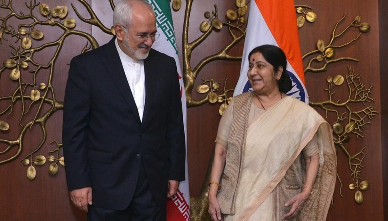 IRANIAN FOREIGN MINISTER ARRIVES IN DELHI ON TUESDAY
