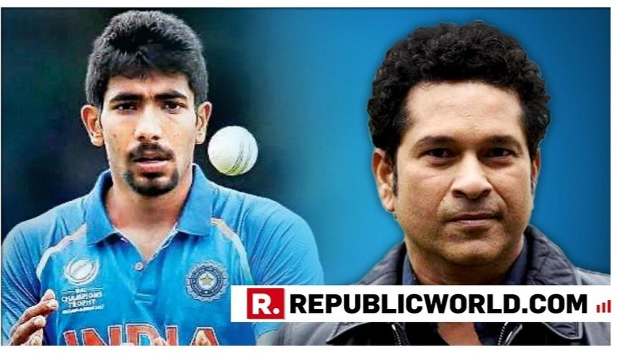 HERE'S HOW JASPRIT BUMRAH RESPONDED TO SACHIN TENDULKAR CALLING HIM THE 'WORLD'S BEST BOWLER'
