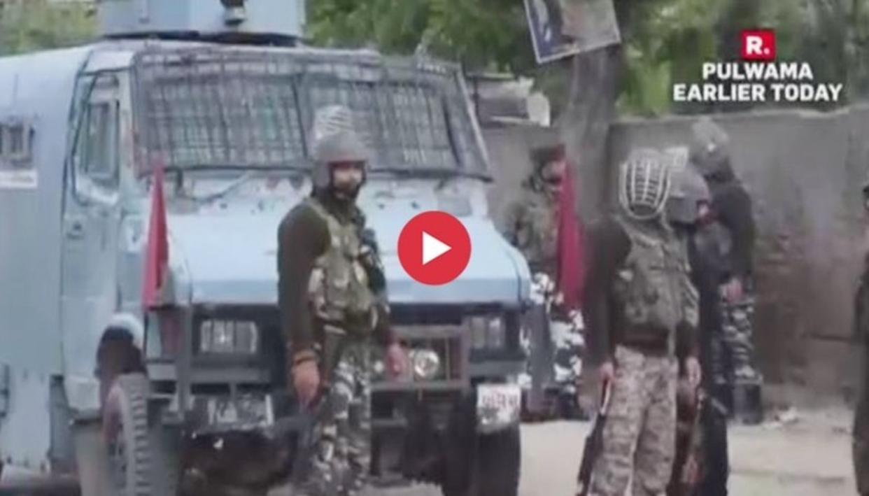 WATCH: MASSIVE VICTORY FOR INDIAN ARMY IN PULWAMA, NEUTRALISES THREE JeM TERRORISTS IN ENCOUNTER