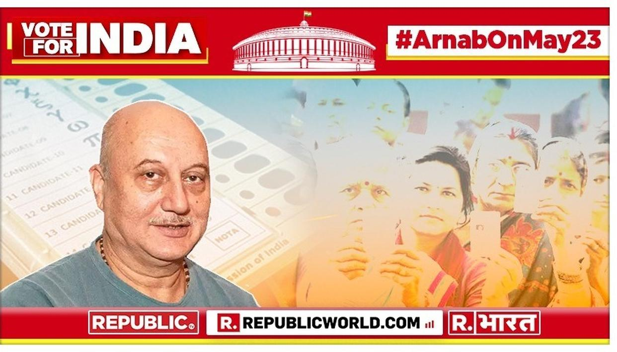 LOK SABHA ELECTION RESULTS 2019: ANUPAM KHER'S MESSAGE ON A CRUCIAL DAY THAT WILL DECIDE INDIA'S FUTURE CAN'T BE MISSED